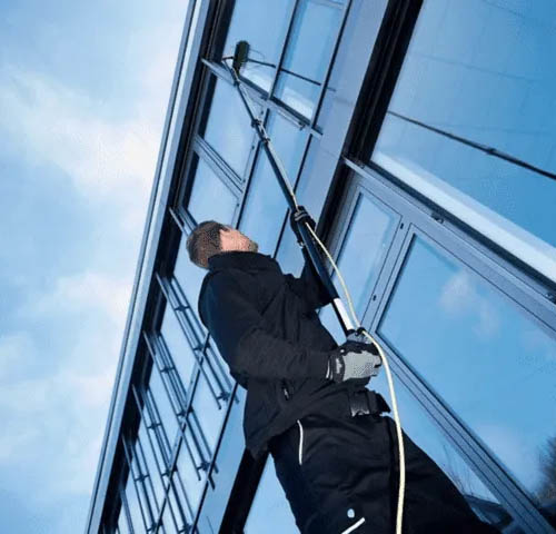 commercial window cleaning northampton shop restaurant clean