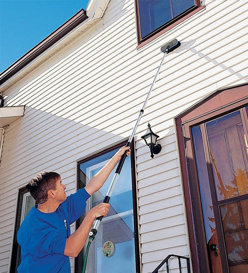 soffit siding cleaning service